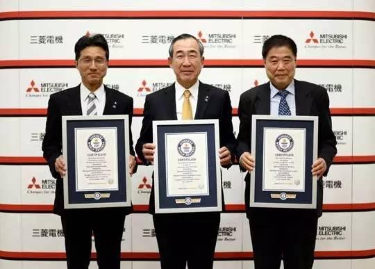 三菱电梯荣获三项吉尼斯世界纪录